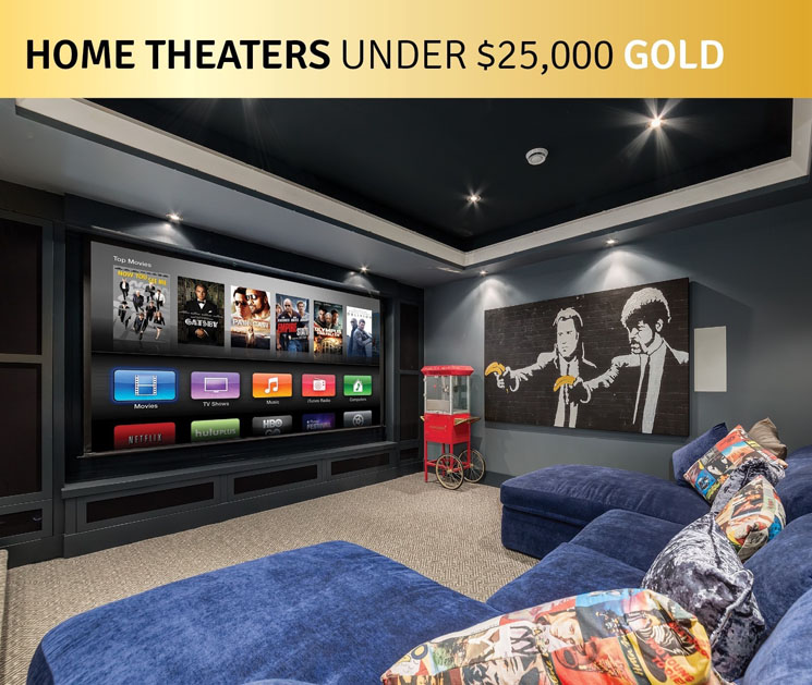 Saker Series Featured in EH's Best Home Theater Under $25K (Gold)
