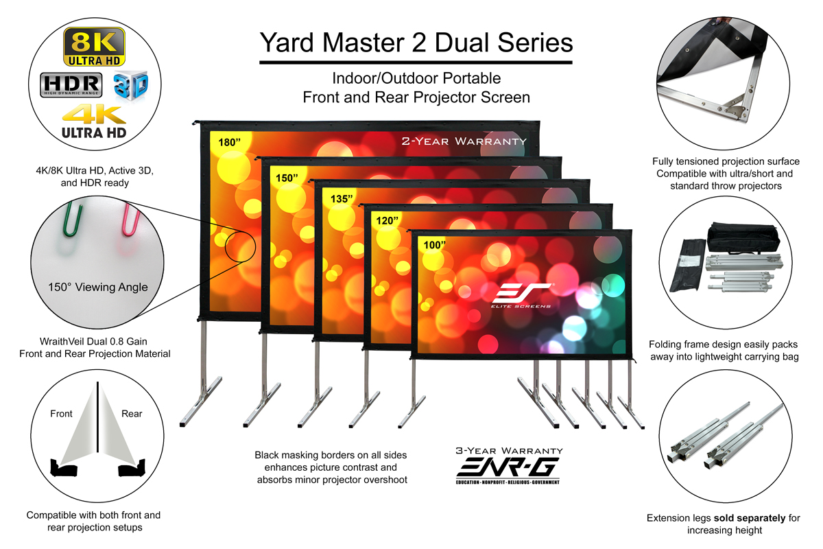Yard Master 2 Dual Features