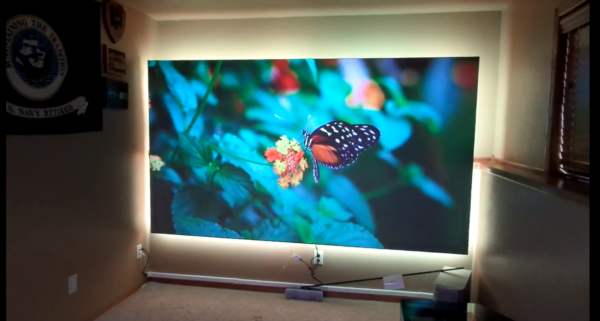 Aeon Series (Cinegrey 3D®) in Sioux City Residential Media Room