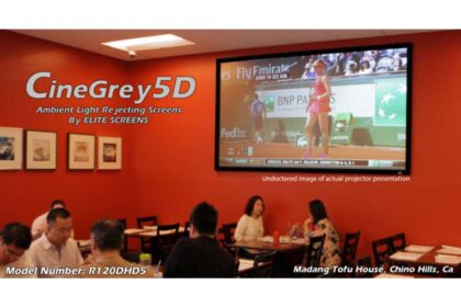 ezFrame CineGrey 5D® (R120DHD5) at Madang Tofu House in Chino Hills, CA