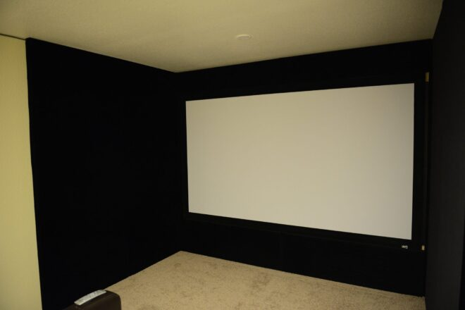 Installing a false wall to avoid holes in your walls