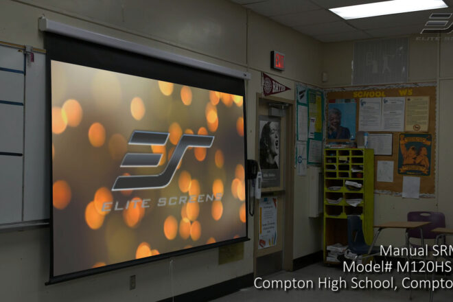 Manual SRM Pro Series Projection Screen Video