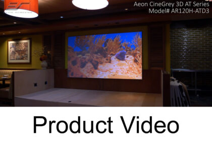 Aeon CineGrey 3D® AT video