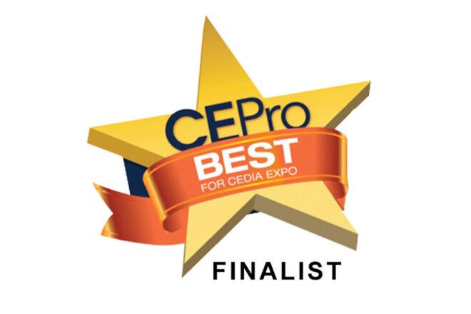 CE Pro Best Award - Finalist