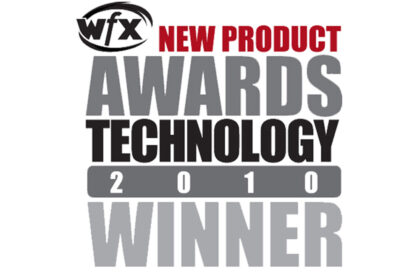 2010 WFX Award Winner Best Projection Screen