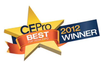 CEPro 2012 BEST Award