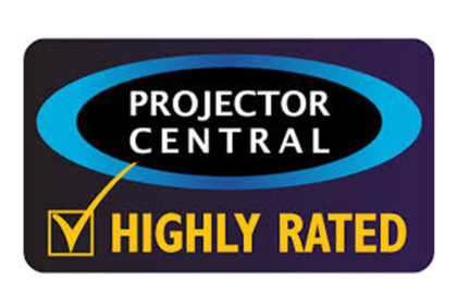 "ProjectorCentral.com ""Highly Rated"" 2012"