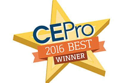 2016 CE Pro BEST Award