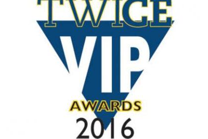 2016 TWICE Magazine's VIP Award