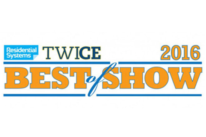 2016 TWICE/Residential Systems Best of CEDIA Awards