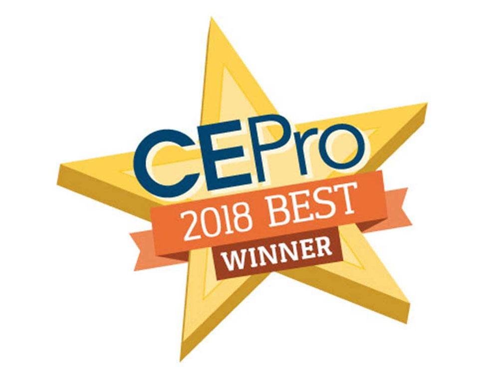 CE Pro Magazine's 2018 BEST Award