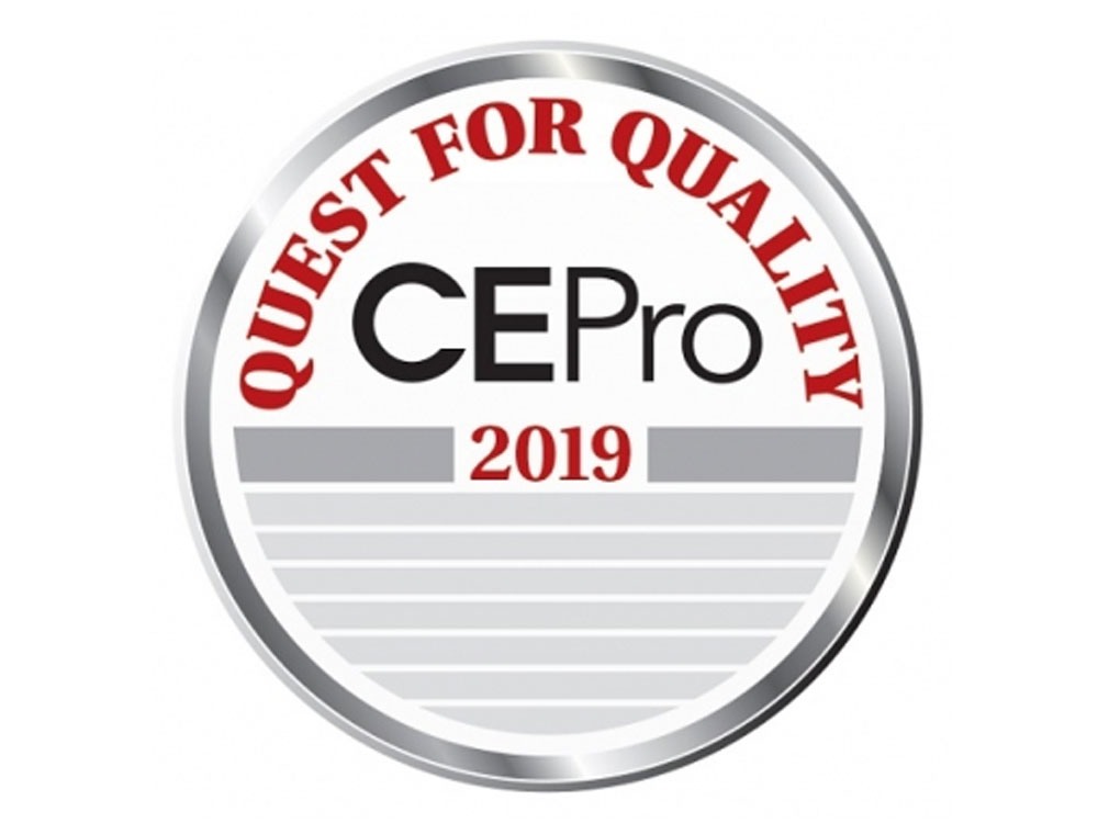 2019 CE Pro Quest for Quality Award