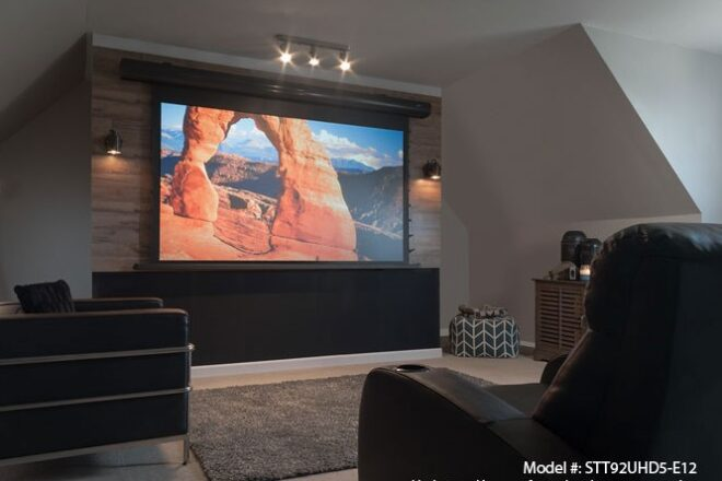 Ambient Light Rejecting Projector Screens