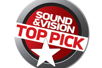 Sound & Visions Top Pick Award