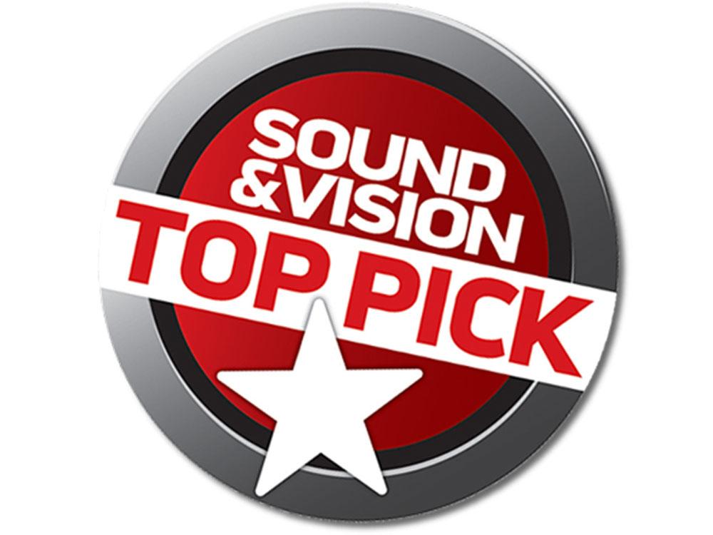 Sound & Visions Top Pick Award