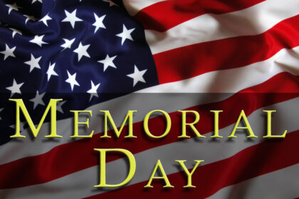 Memorial Day Reminder