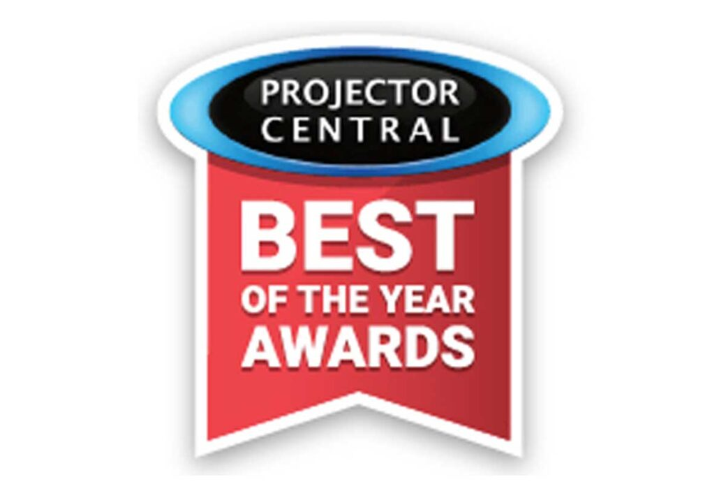 Projector Central 2019 Best of the Year Award
