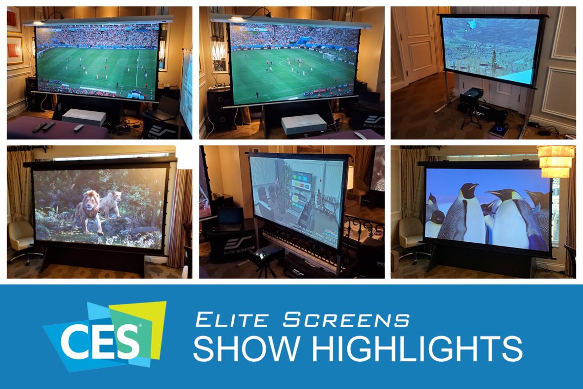 Elite Screens at CES 2020