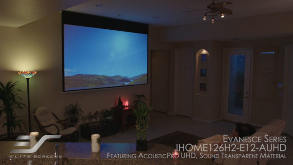 Evanesce In-Ceiling Electric Screen Review