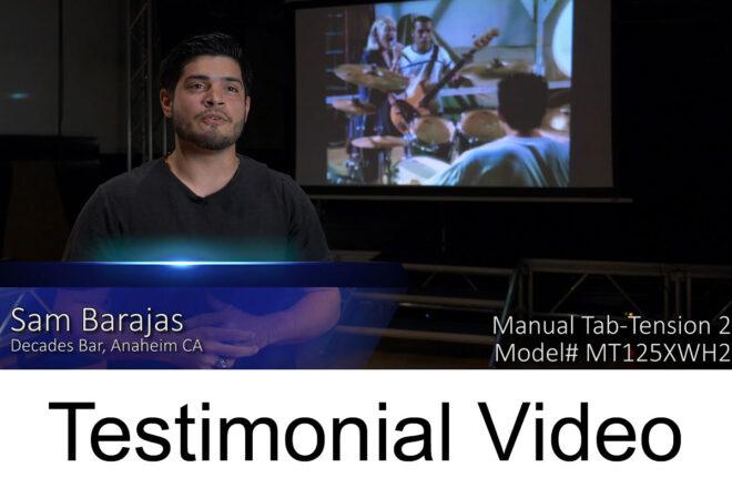 Manual Tab-Tension 2 Testimonial