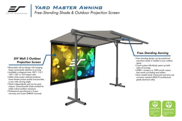 Yard Master Awning Series FOP