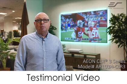 Aeon CLR 3 Testimonial Video