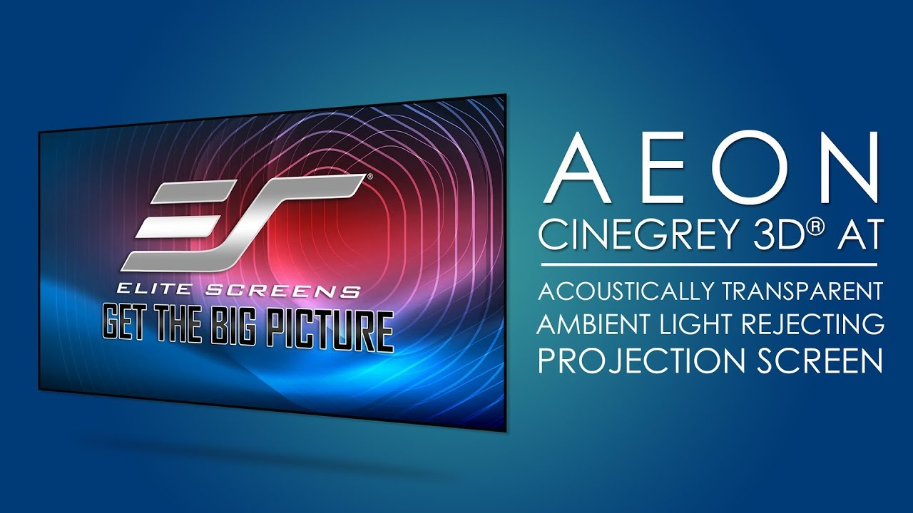 Aeon CineGrey 3D® AT Series Product Video