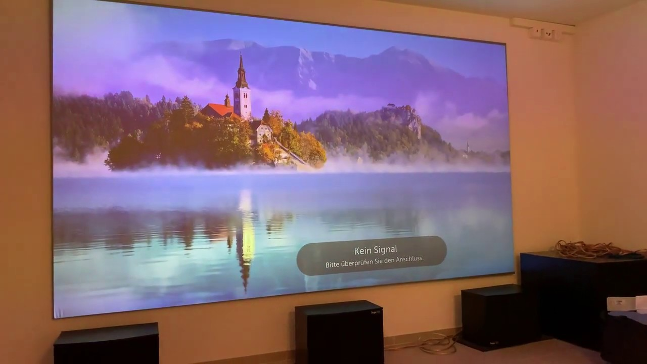 Aeon CineGrey 3D® with LG 4K Projector Customer Review
