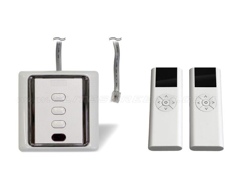 Remote Control Kit - 3-way Wall Switch | IR Remote | RF Remote