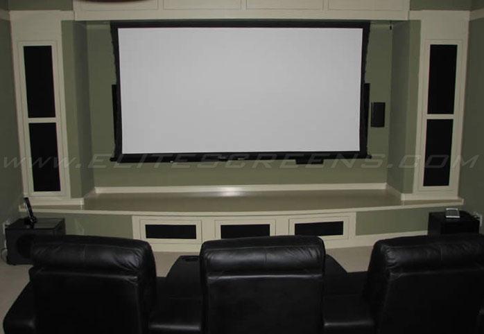 Cinetension 2 Series Elite Screens Projector Screens