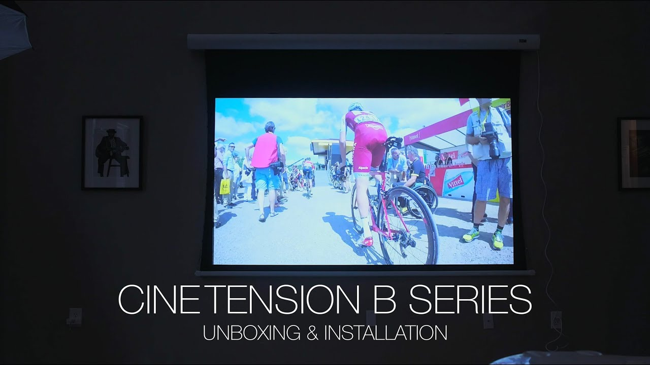 CineTension B Series - Unboxing & Installation