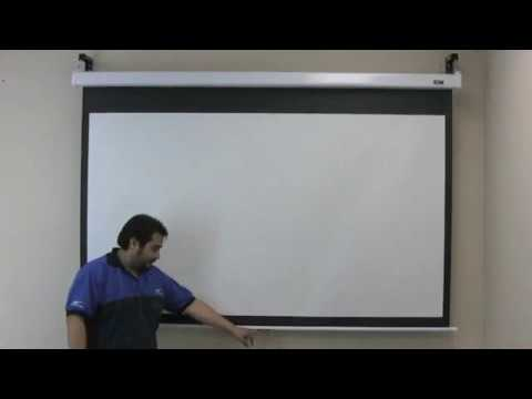 EliteScreensInc 4.21K subscribers Manual Series SRM Demonstration Video
