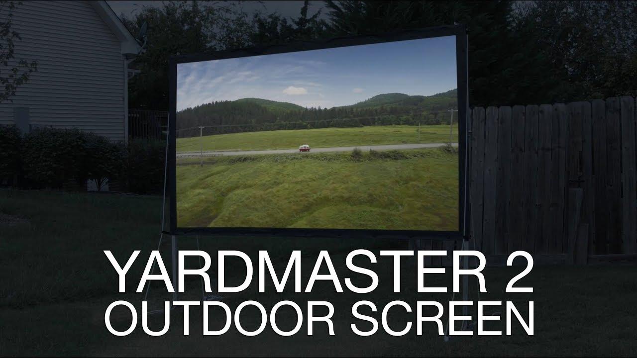 Elite Screens YardMaster 2 Series Indoor/Outdoor Projection Screen