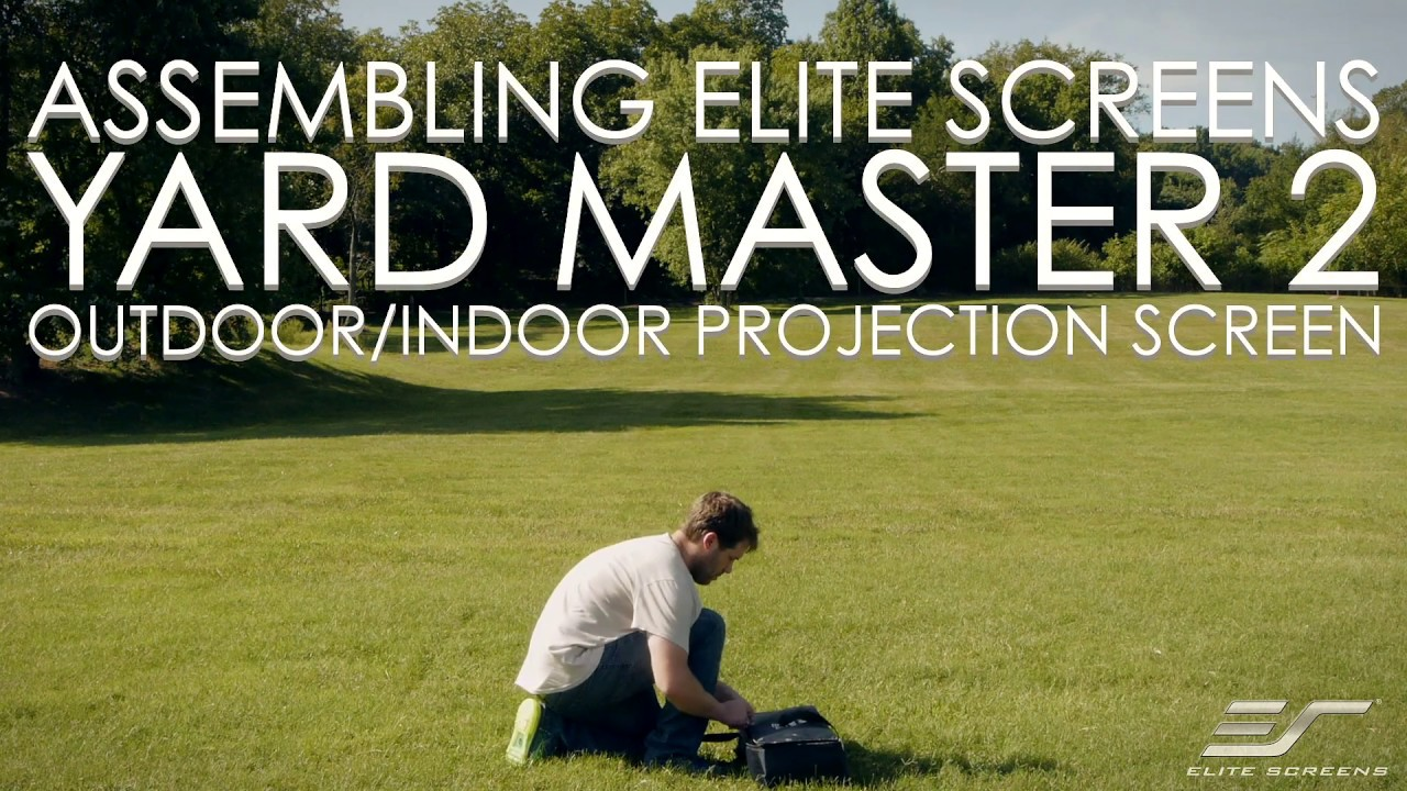 Elite Screens Yard Master 2 Series Outdoor Projection Screen Assembly