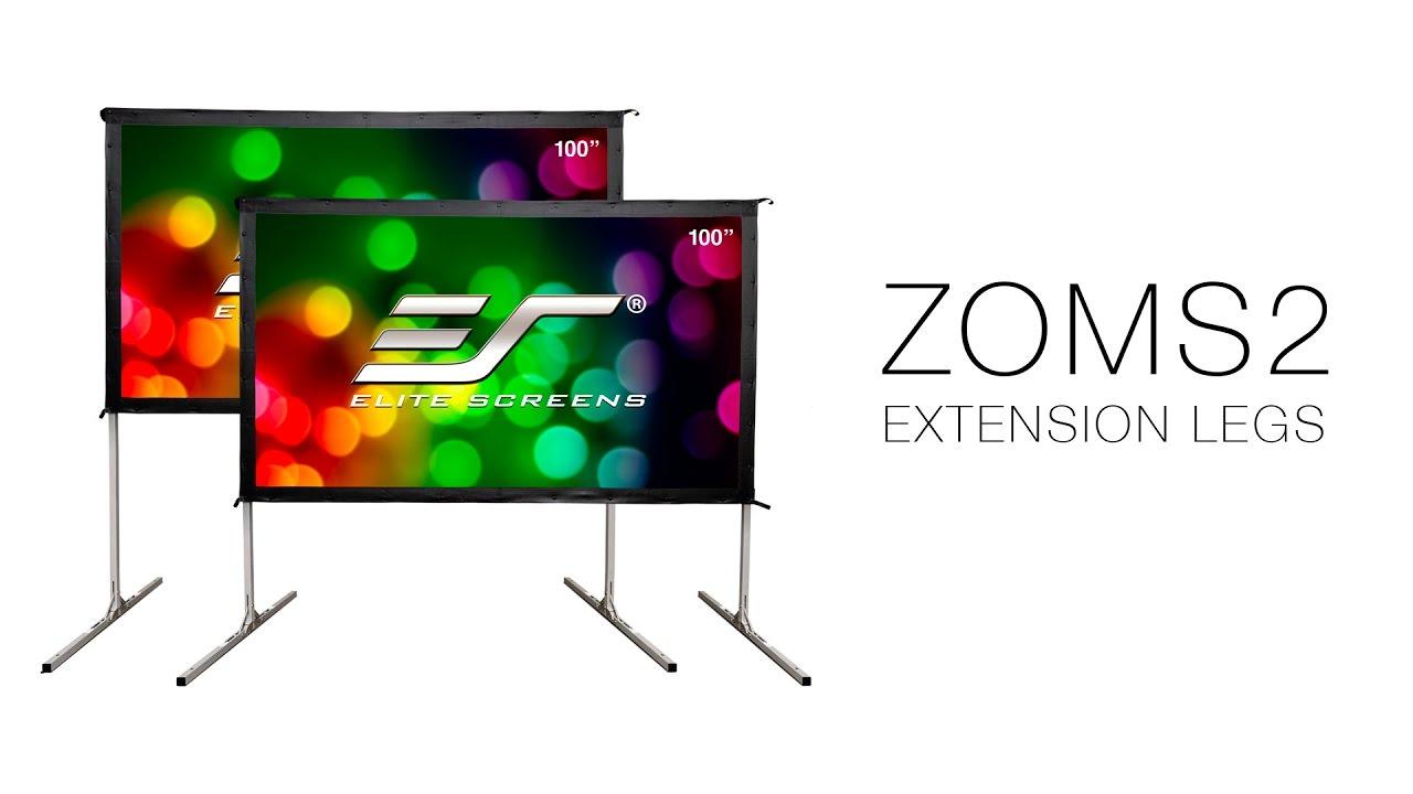 Extension Legs for Elite Screens\' YardMaster II Outdoor Projection Screen