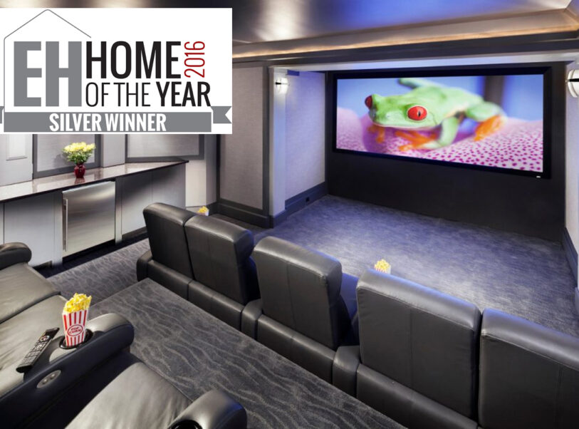 Lunette 2 Series wins EH 2016 Home of the Year Award (Home Theater $75k – 150k-Silver)