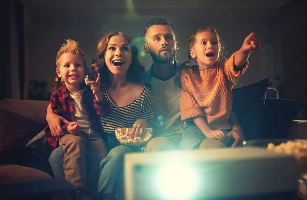 Home Theater family