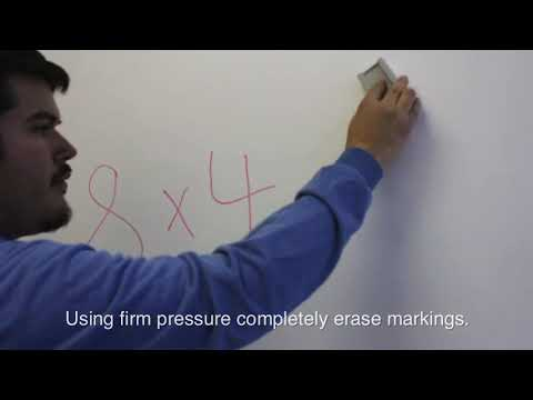 How to Properly Dry Erase Elite Whiteboard Screens
