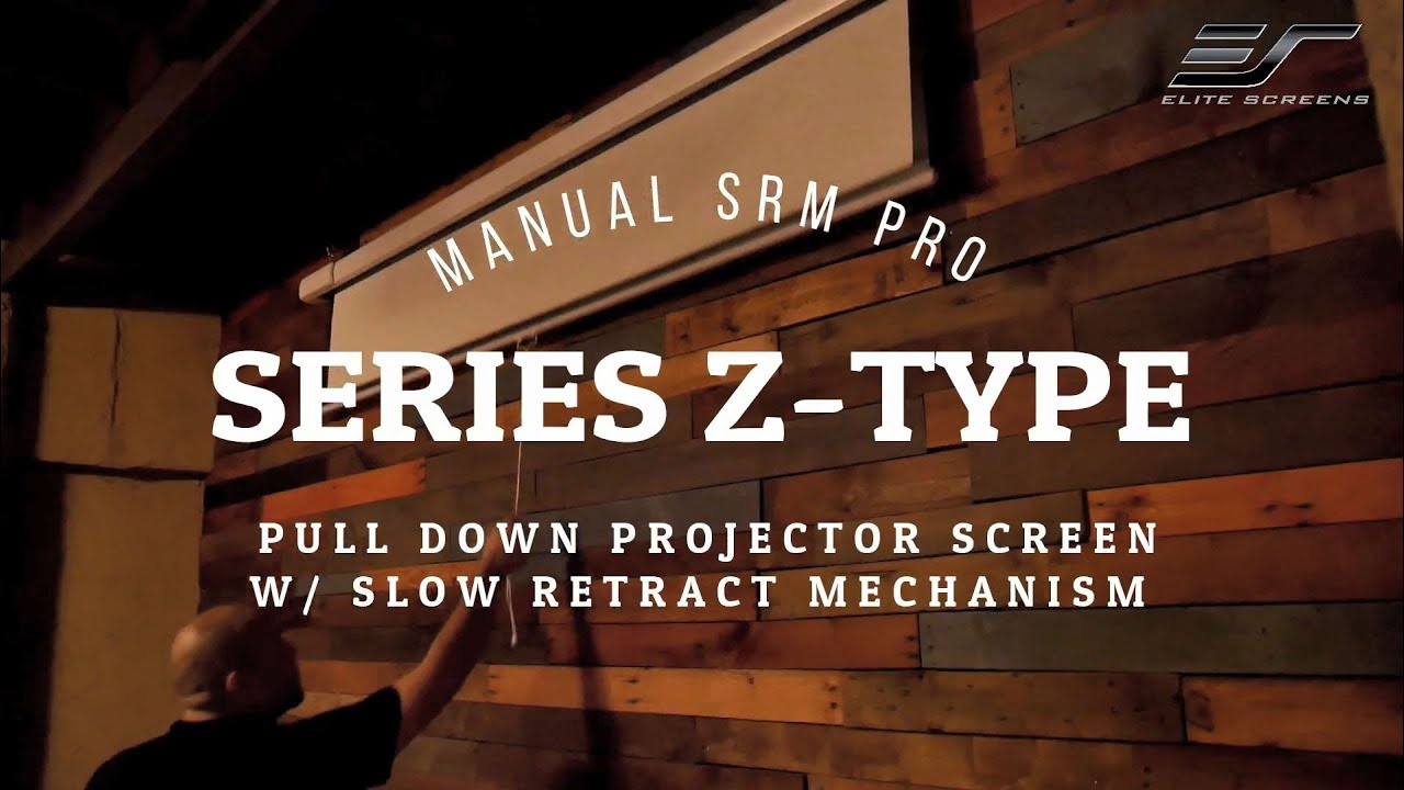 Manual SRM Pro Series Z Type Product Video