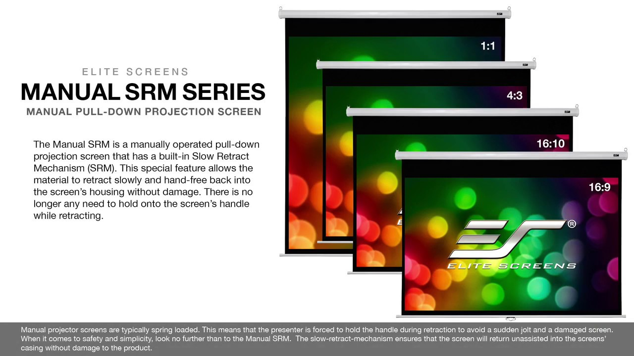 Manual SRM Series Product Video