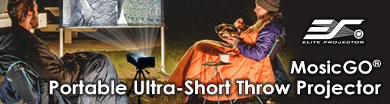 MosicGO® Ultra-Short Throw Projector