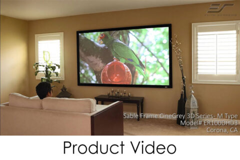Sable Frame CineGrey 3D Product Video
