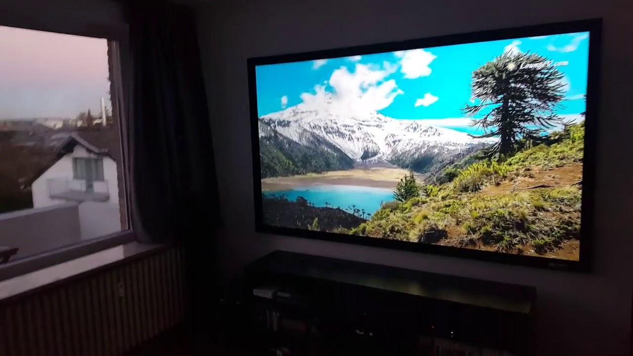 Sable Frame CineGrey® 3D ALR/CLR® Projection Screen Customer Testimonial