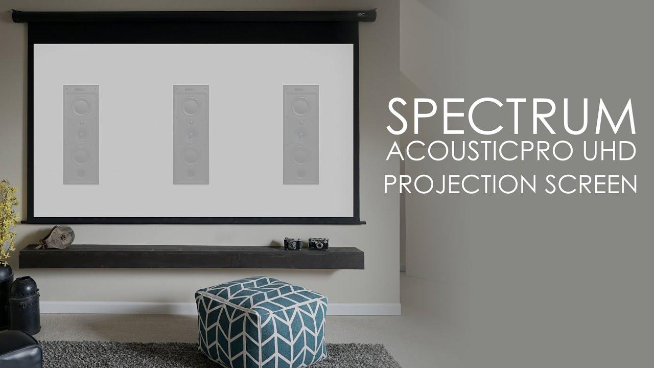 Spectrum AcousticPro UHD Series