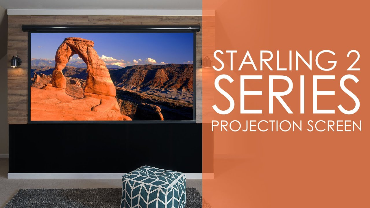 Starling 2 Series Projection Screen