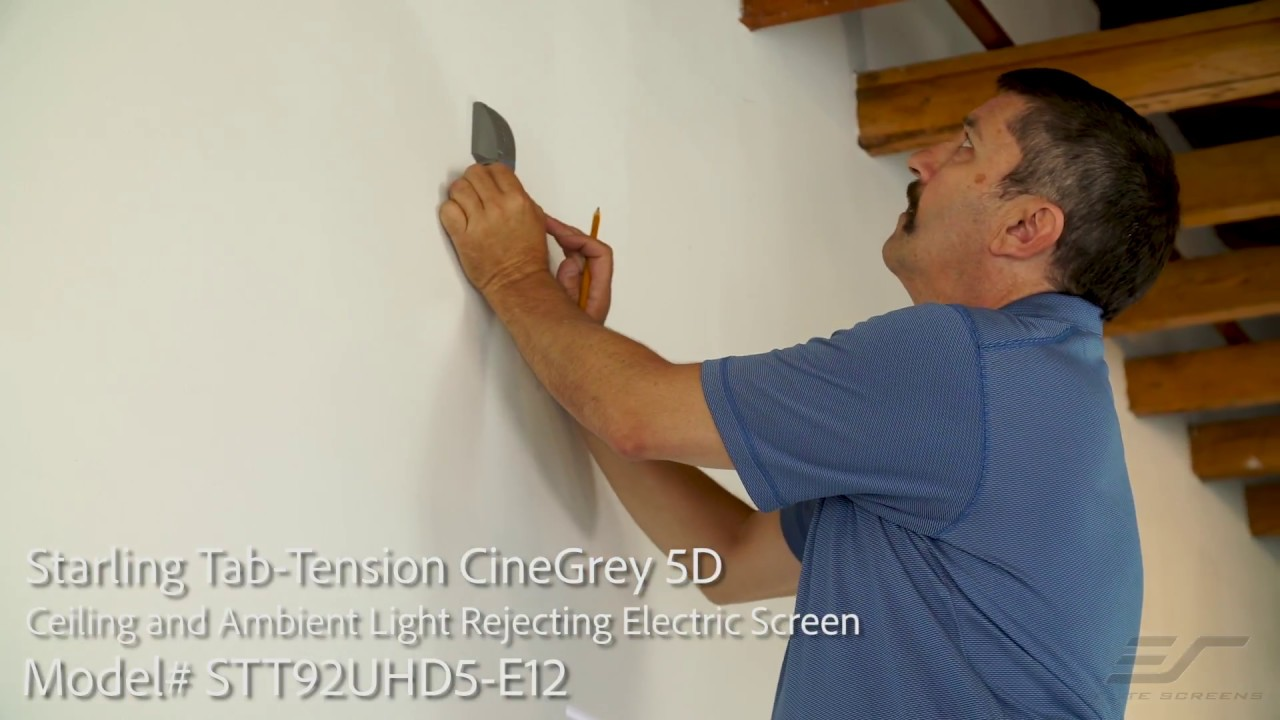 Starling Tab-Tension 2 with CineGrey 5D® Material Installation Video