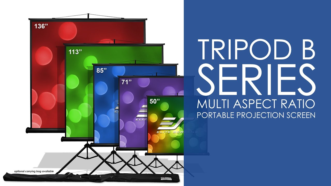 Tripod B Portable Projection Screen