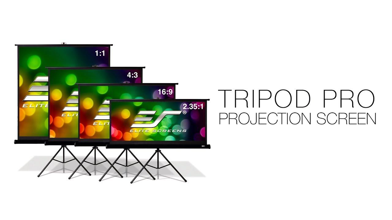 Tripod Pro Series Portable Projection Screen
