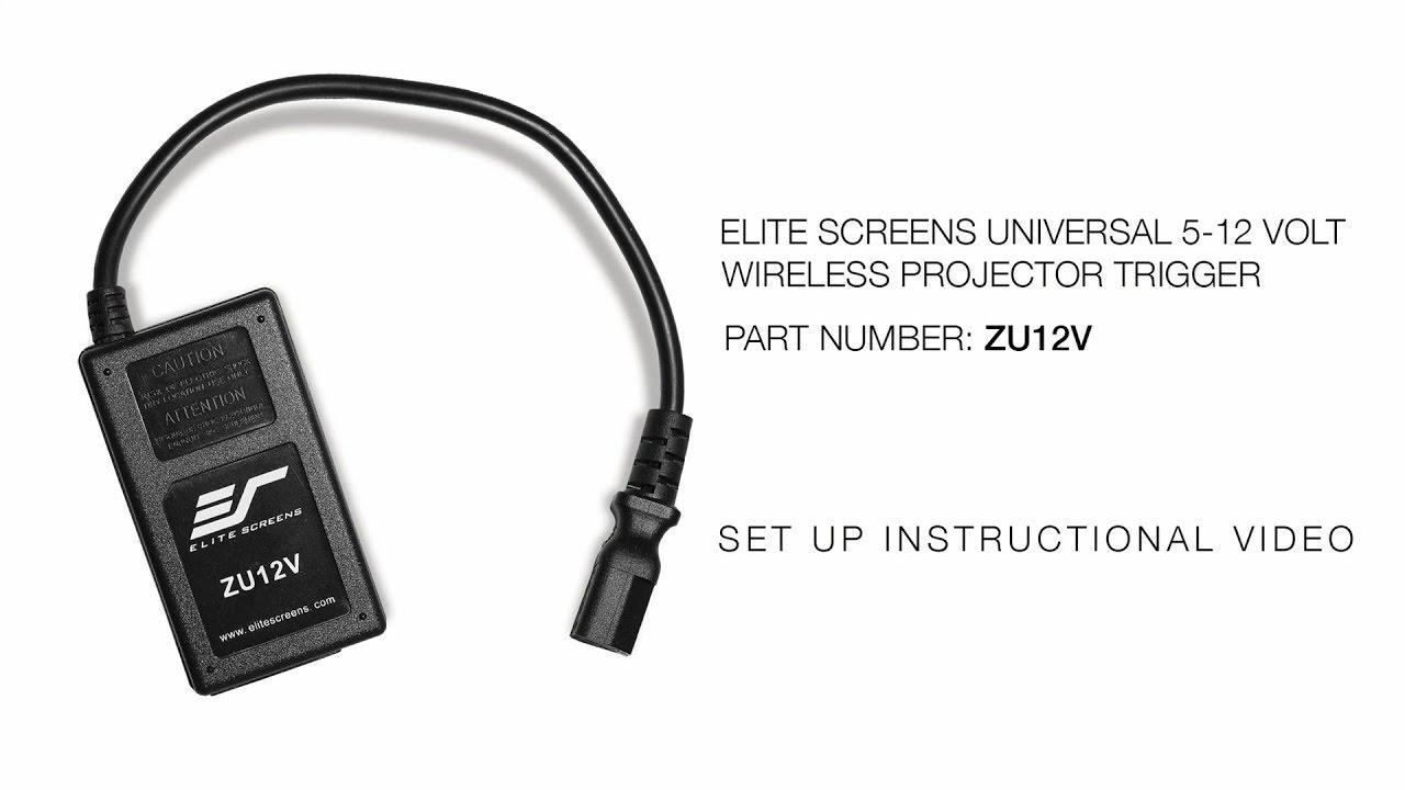 Universal Wireless 5-12V Trigger- ZU12V Setup Instructions