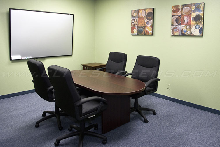 Ambient Light Rejecting WhiteBoardScreen™ Series Meeting Room Application